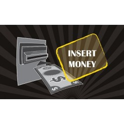 DE3308 - DECAL PNG 8 - INSERT MONEY (25x15 cm - Inch 9,84x19,29)