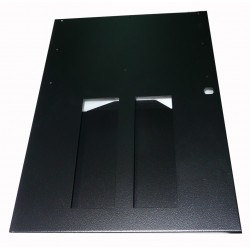 ME3301 - BOTTOM LEFT LATERAL DOOR (PHOTO SLOT) PNG (BLACK) (50,5x36 cm - Inch 19,9x14,2)