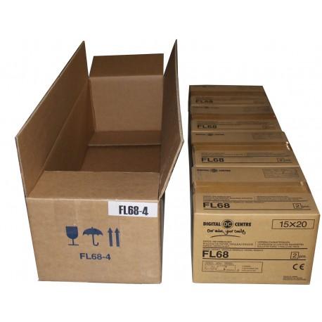 FL68-04 - FILM CASE 4 BOXES OF 2 ROLLS FL68 (3,440 VENDS - 6,880 STRIPS)