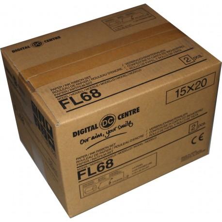 FL68-01 - FILM BOX OF 2 ROLLS FL68 (860 VENDS - 1,720 STRIPS)