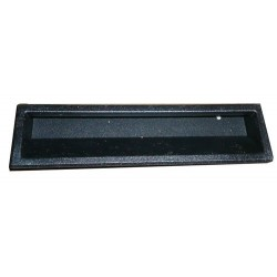 PL0003 - LATERAL PLASTIC HANDLE. STRIP (BLACK)