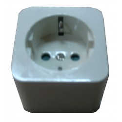 SE3402 - TRANSFORMER SOCKET PLASTIC BASE. (WHITE)