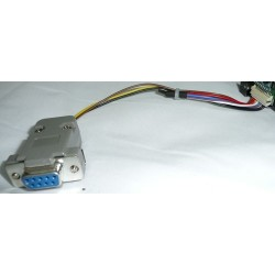 CA2914 - RS-232 SERIAL CABLE FROM CAMERA SONY FCB. (20 cm - Inch 7,87)