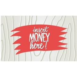 DE3507 - DECAL. MEGA 7 - INSERT MONEY (25x15 cm - Inch 9,8x5,9)