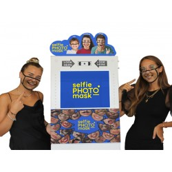 Selfie Photo Mask (prepaid for reserving this photobooth)