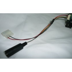 CA2913 - S-VHS + 12 V CABLE FROM CAMERA SONY FCB. (27 cm - Inch 10,62)