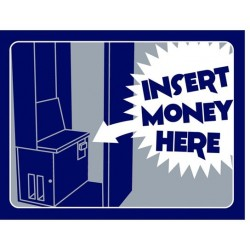 DE2908 - STD. DECAL. NG BU  8 - INSERT MONEY (28,5x22 cm - Inch 11,02x8,66)
