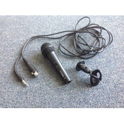 EL3424 - EXTERNAL MICROPHONE KIT ( HIGH QUALITY EXT. MCROPHONE + SUPPORT WITH SCREWS + XLR-JACK  CABLE)