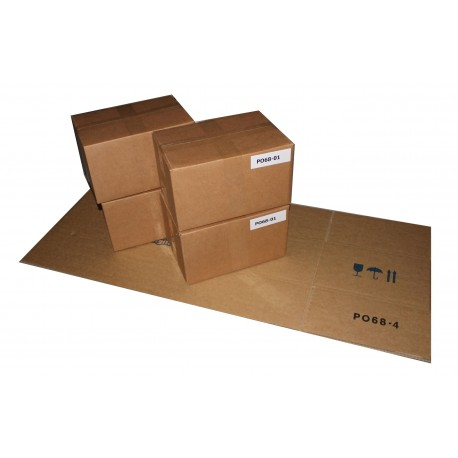 PO68-04 - FILM CASE 4 BOXES OF 2 ROLLS PO68 (3,200 VENDS - 6,400 STRIPS)